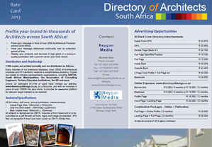 Directory of Architects - (KSA special offer)