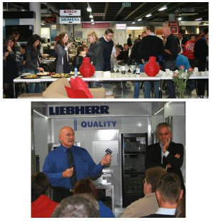 Hirsch's launch to the kitchen industry in Cape Town