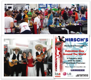 KSA Masterchef competition in conjunction with HIRSCHS, SMEG and LG