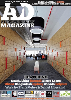 March edition of Africa Design Magazine features KSA