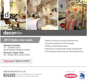 NEW TALENT TAKES THE REINS AT DECOREX SA