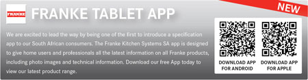 Franke launch their specifications app
