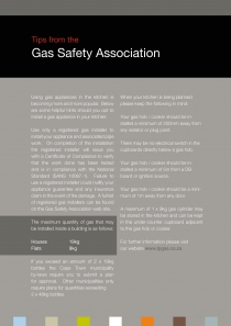 Tips from the Gas Safety Association