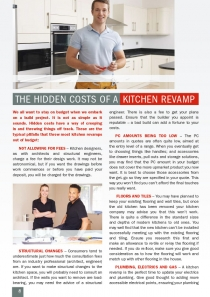 The Hidden Costs of a Kitchen Revamp