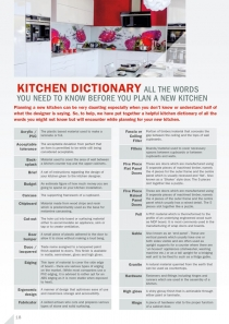 Kitchen Dictionery