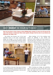 Why invest In your kitchen