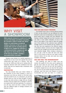 Why visit a Showroom