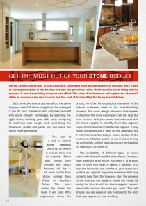Get the most out of your stone budget