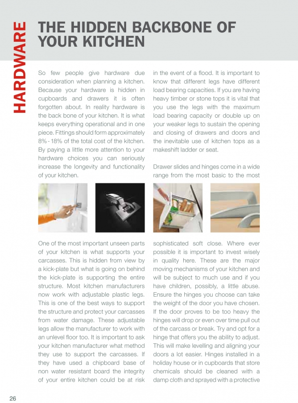 Hardware - The hidden backbone of your kitchen