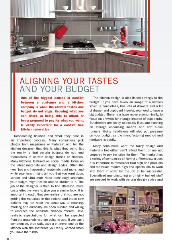 Aligning your Tastes and your Budget