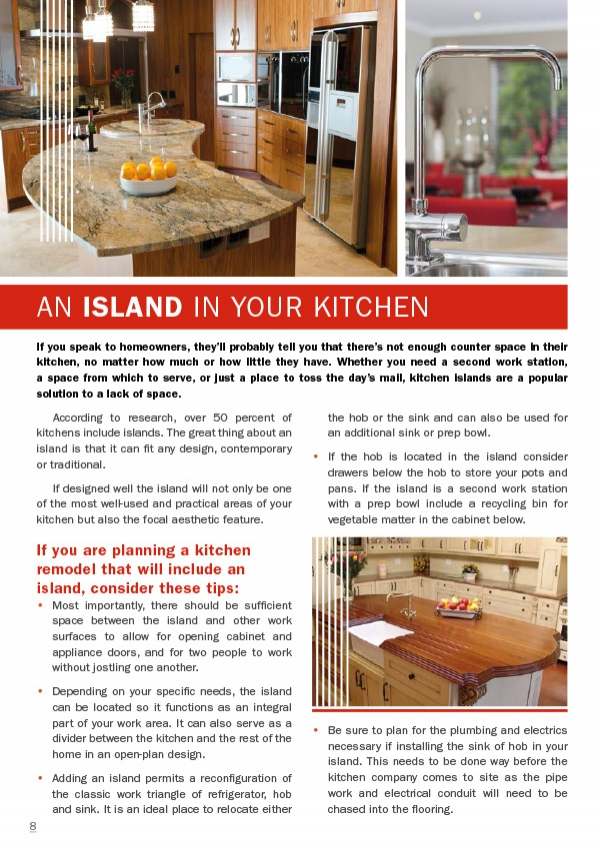 An Island in your kitchen
