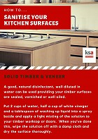 How to keep your kitchen sterilised without damaging the finishes