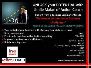KSA CT business seminar with Action Coach