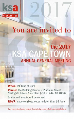 Join us at the KSA CT AGM