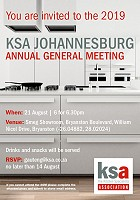 You are invited to the Gauteng AGM on 21 August