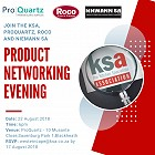 Join KSA CT for their winter product evening