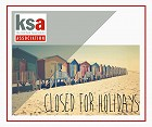 KSA holiday closure dates