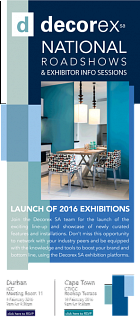 Don't miss the CT leg of the Decorex roadshow