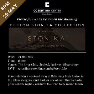 Cosentino launches the new Dekton® Stonika Collection | KSA