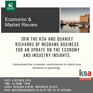 KSA CT and Nedbank to host an Economic and Market overview