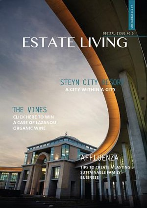 KSA appears in issue 5 of Estate Living