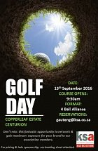 Join us at the KSA JHB annual golf day