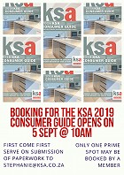 Bookings for the 2019 KSA Consumer Guide open soon