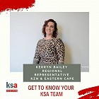 Get to know the KSA team - Kerryn Bailey