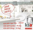 Save the date for the KSA AGM