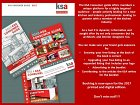 Reminder to members about the value of the KSA Consumer Guide