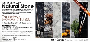 KSA CT Hosts its final product evening for 2019 with Natural Stone Warehouse and ISS