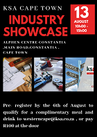 KSA Cape Town Industry Showcase