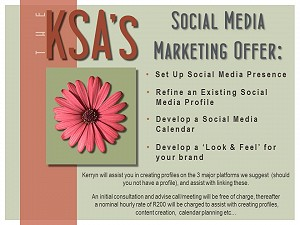 Let the KSA help you to up your social media game