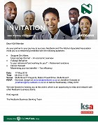KSA CT and Nedbank business breakfast