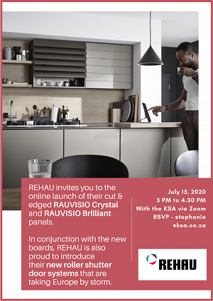 REHAU to launch new board products and roller door systems