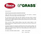 Grass and Roco announce a new partnership